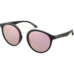 Alpina Caruma II Lunettes, black matt/rose-gold mirror